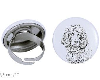 Ring with a dog- Boykin Spaniel