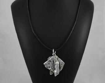Basset Hound, dog necklace, limited edition, ArtDog