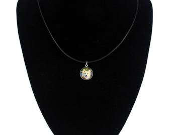 Pembroke Welsh Corgi. Necklace, pendant for people who love dogs. Photojewelry. Handmade.