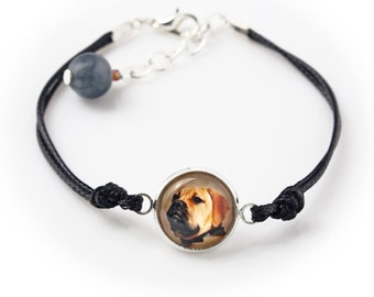 Bullmastiff. Bracelet for people who love dogs. Photojewelry. Handmade.
