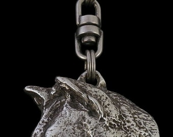 Shiba Inu, dog keyring, keychain, limited edition, ArtDog . Dog keyring for dog lovers