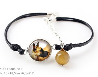 Great Dane. Bracelet for people who love dogs. Photojewelry. Handmade.