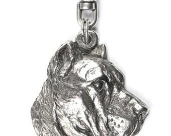 NEW, Presa Canario, Perro de Presa Canario, dog keyring, key holder, limited edition, ArtDog . Dog keyring for dog lovers