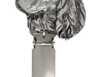 Springer Spaniel, dog clipring, dog show ring clip/number holder, limited edition, ArtDog