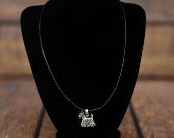 Scottish Terrier , dog necklace, limited edition, extraordinary gift, ArtDog
