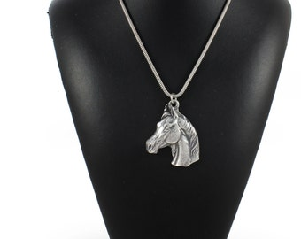 NEW, Arabian Horse, horse necklace, silver cord 925, limited edition, ArtDog