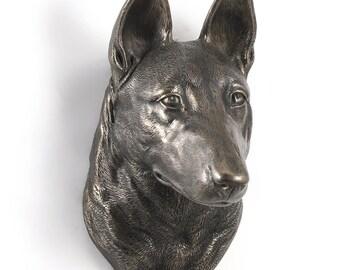 Malinoise, dog hanging statue, limited edition, ArtDog