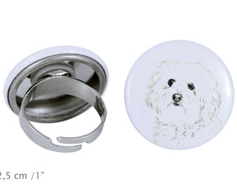Ring with a dog- Spanish Water Dog