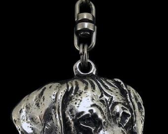 Rhodesian Ridgeback, African Lion Boy, African Lion Girl, dog keyring, keychain, limited edition, ArtDog . Dog keyring for dog lovers