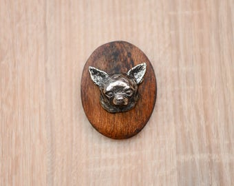 Chihuahua, dog show ring clip/number holder, limited edition, ArtDog