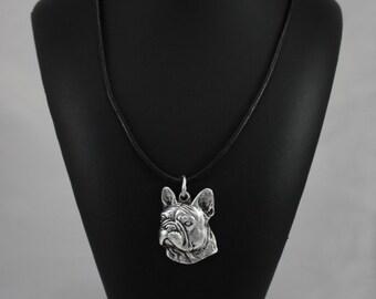 French Bulldog, dog necklace, limited edition, ArtDog