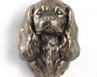 King Charles Spaniel, dog hanging statue, limited edition, ArtDog