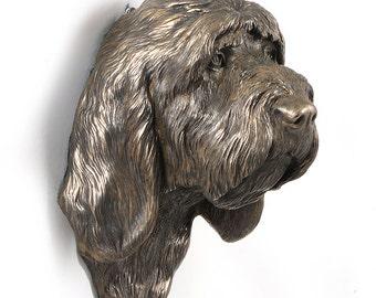 Grand Basset, Griffon Vendeen, dog hanging statue, limited edition, ArtDog