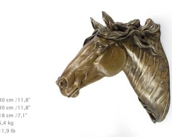 Fresian Horse (big), horse hanging statue, limited edition, ArtDog