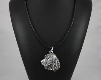Springer Spaniel, dog necklace, limited edition, ArtDog