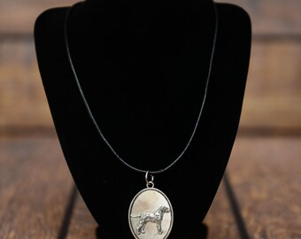 Dalmatian, dog necklace, medallion, limited edition, extraordinary gift, ArtDog