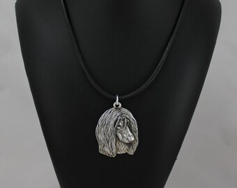 Afghan Hound, dog necklace, limited edition, ArtDog