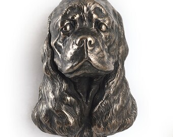 American Cocker Spaniel, dog hanging statue, limited edition, ArtDog