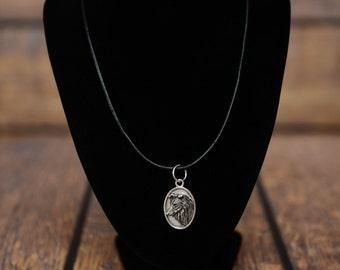 Collie, dog necklace, medallion, limited edition, extraordinary gift, ArtDog