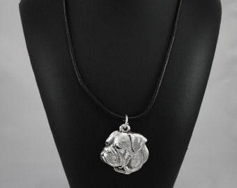American Bulldog, dog necklace, limited edition, ArtDog