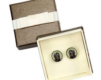 Neapolitan Mastiff. Cufflinks with box for dog lovers. Photo jewellery. Men's jewellery. Handmade