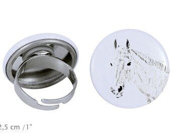 Ring with a horse - Orlov Trotter