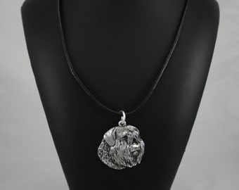 Bouvier, Flanders Cattle Dog, dog necklace, limited edition, ArtDog