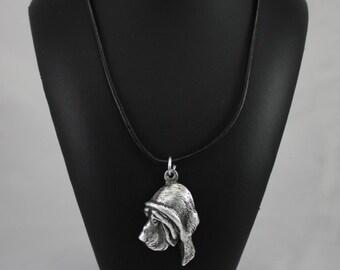 Bloodhound, dog necklace, limited edition, ArtDog
