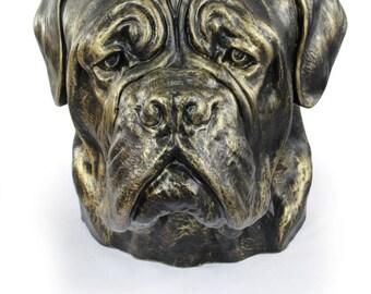 Dog de Bordeaux, dog big head statue, limited edition, ArtDog