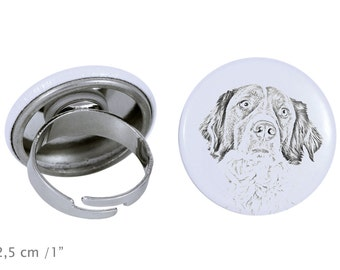 Ring with a dog- French Spaniel