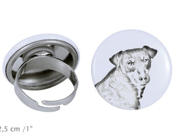 Ring with a dog- Jagdterrier