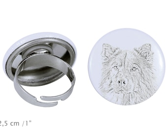 Ring with a dog- Eurasier