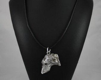 Deerhound, dog necklace, limited edition, ArtDog