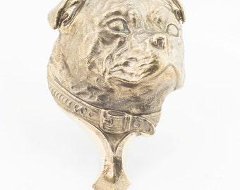 Stafforshire Bull Terrier, dog door's knocker, limited edition, ArtDog