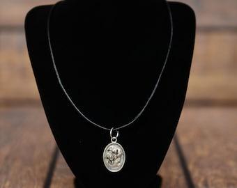 Bullmastiff, Italian mastiff, dog necklace, medallion, limited edition, extraordinary gift, ArtDog