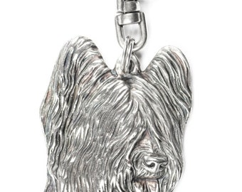 NEW, Briard, dog keyring, key holder, limited edition, ArtDog . Dog keyring for dog lovers