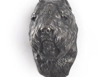 Bouvier des Flandres, dog hanging statue, limited edition, ArtDog