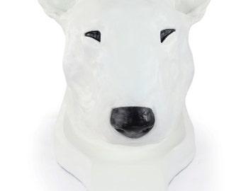 Bull Terrier, color, dog big head statue, limited edition, ArtDog
