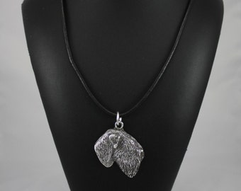 Black Russian Terrier, dog necklace, limited edition, ArtDog