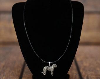 Irish Wolfhound , dog necklace, limited edition, extraordinary gift, ArtDog