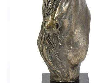 Irish Cob, horse marble statue, limited edition, ArtDog