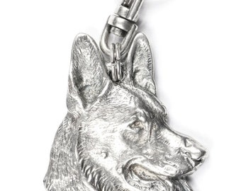 NEW, German Shepherd, dog keyring, key holder, limited edition, ArtDog . Dog keyring for dog lovers