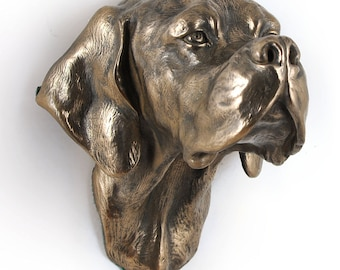 Pointier, dog hanging statue, limited edition, ArtDog