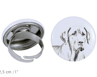 Ring with a dog- Boholmer