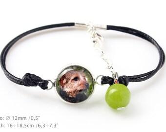 Norfolk Terrier. Bracelet for people who love dogs. Photojewelry. Handmade.