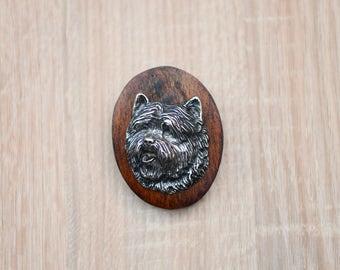 Cairn Terrier, dog clipring, dog show ring clip/number holder, limited edition, ArtDog