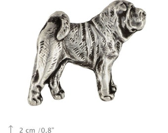 Shar pei (gold&head), dog pin, limited edition, ArtDog