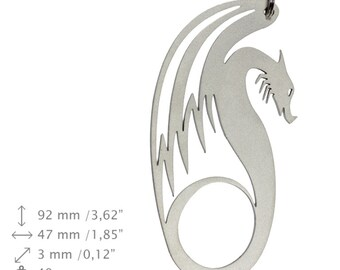 NEW, Dragon 3, bottle opener, stainless steel, different shapes, limited edition
