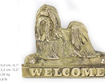 Shih Tzu, dog welcome, hanging decoration, limited edition, ArtDog