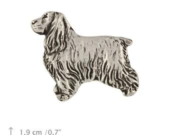 English Cocker Spaniel, dog pin, limited edition, ArtDog